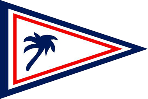 Carlouel Beach Yacht Club Burgee