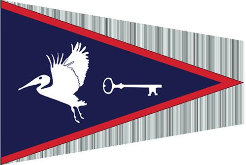 Bird Key Yacht Club Burgee