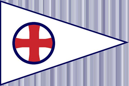 Eau Gallie Yacht Club Burgee