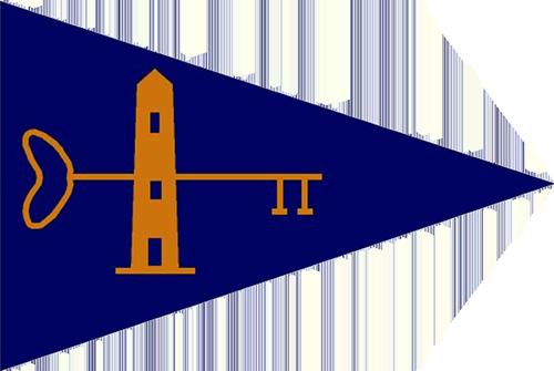 Key Biscayne Yacht Club Burgee