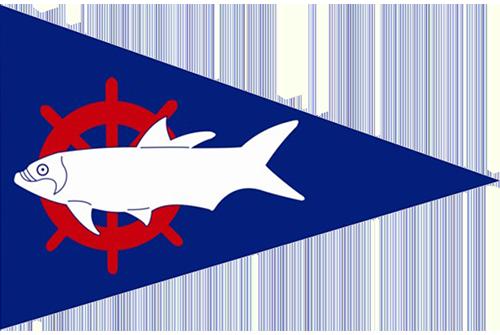 Tarpon Springs Yacht Club Burgee